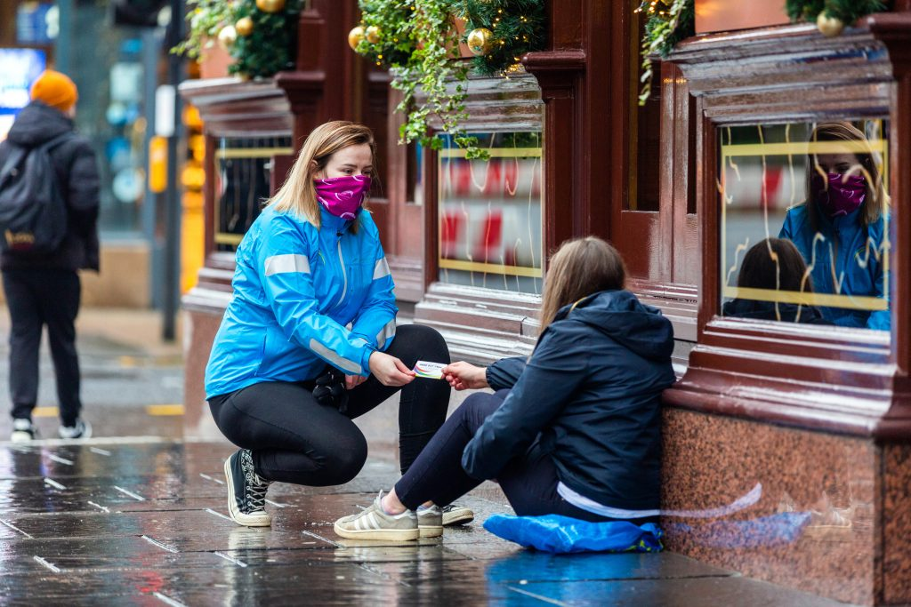 Help us #GiveHope to people affected by homelessness this Winter