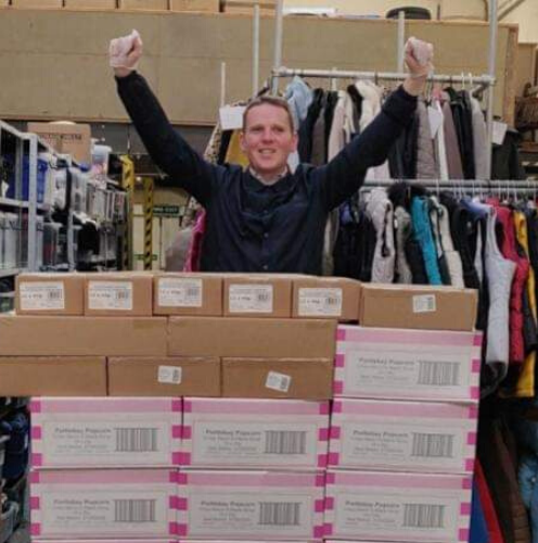 Simon, our Warehouse Volunteer
